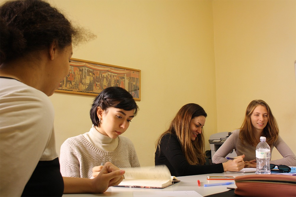 Individual Italian language course in Florence at Parola