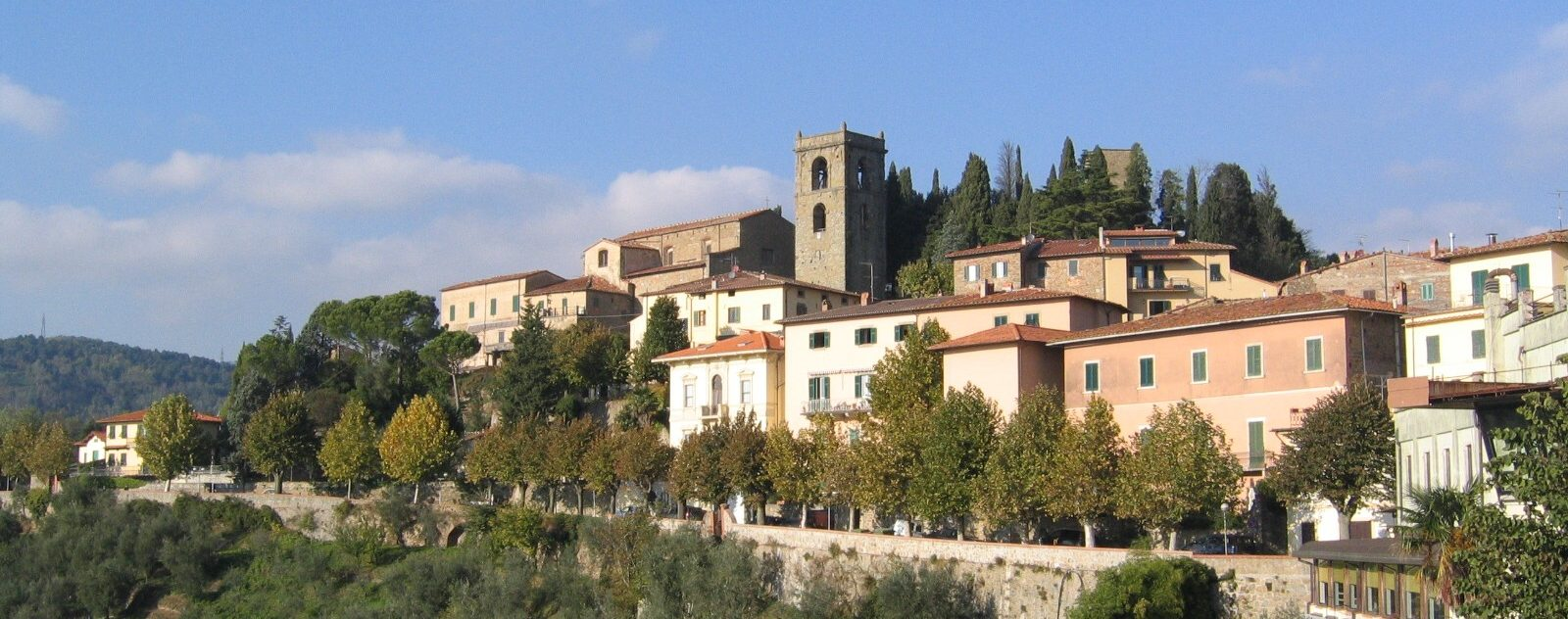 Montecatini Alto near Montecatini Terme