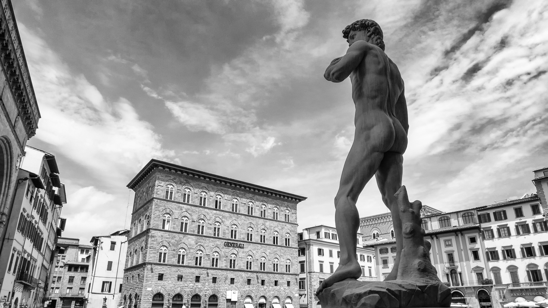 The Statue of David in Florence