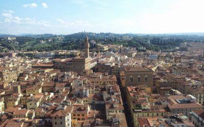 Il tour per Firenze con gli studenti di italiano