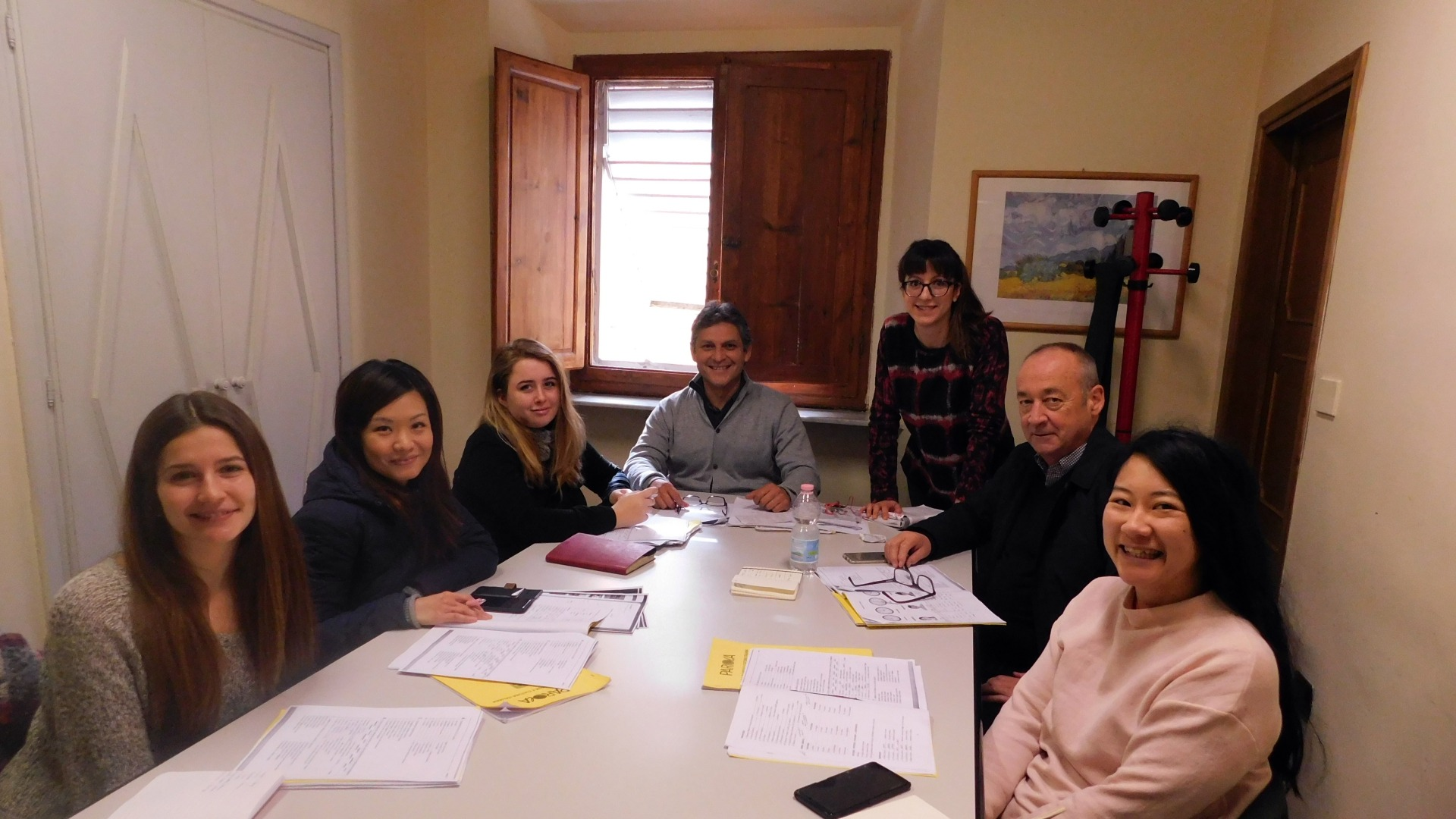 Italian language course in Florence