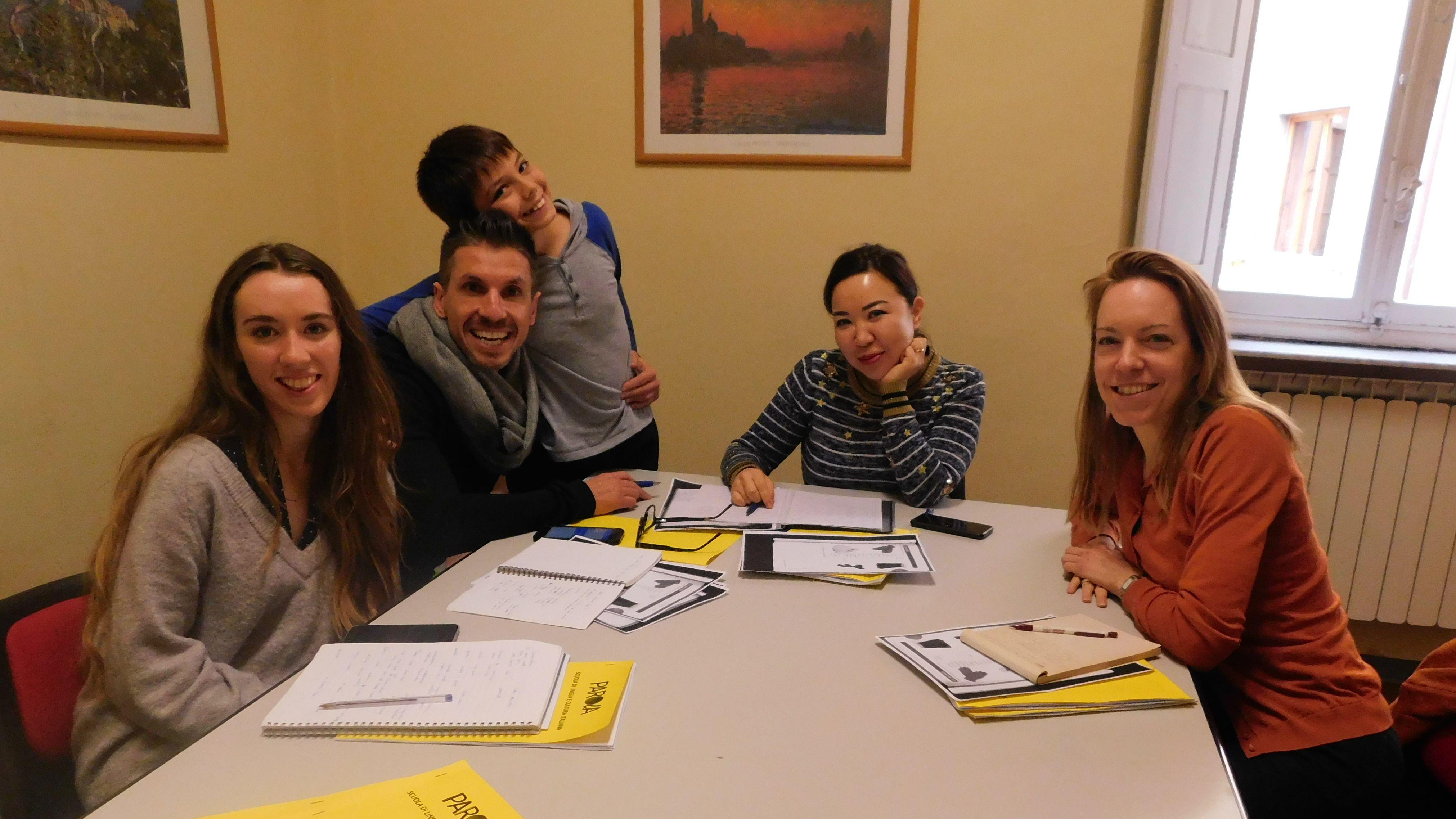Schüler der Parola Italienisch Sprachschule