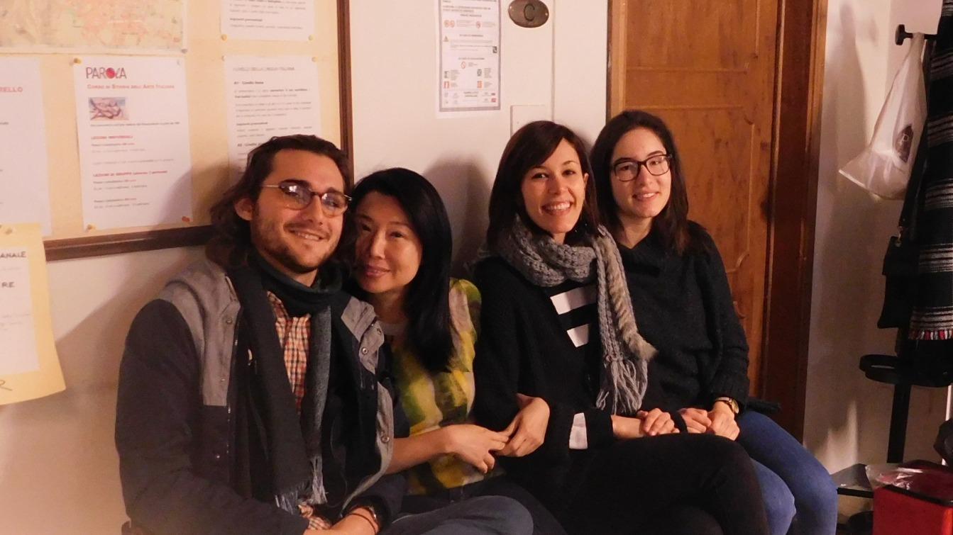 Student an der Italienisch-Sprachschule Parola in Florenz