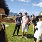 Studenti di italiano a Forte Belvedere