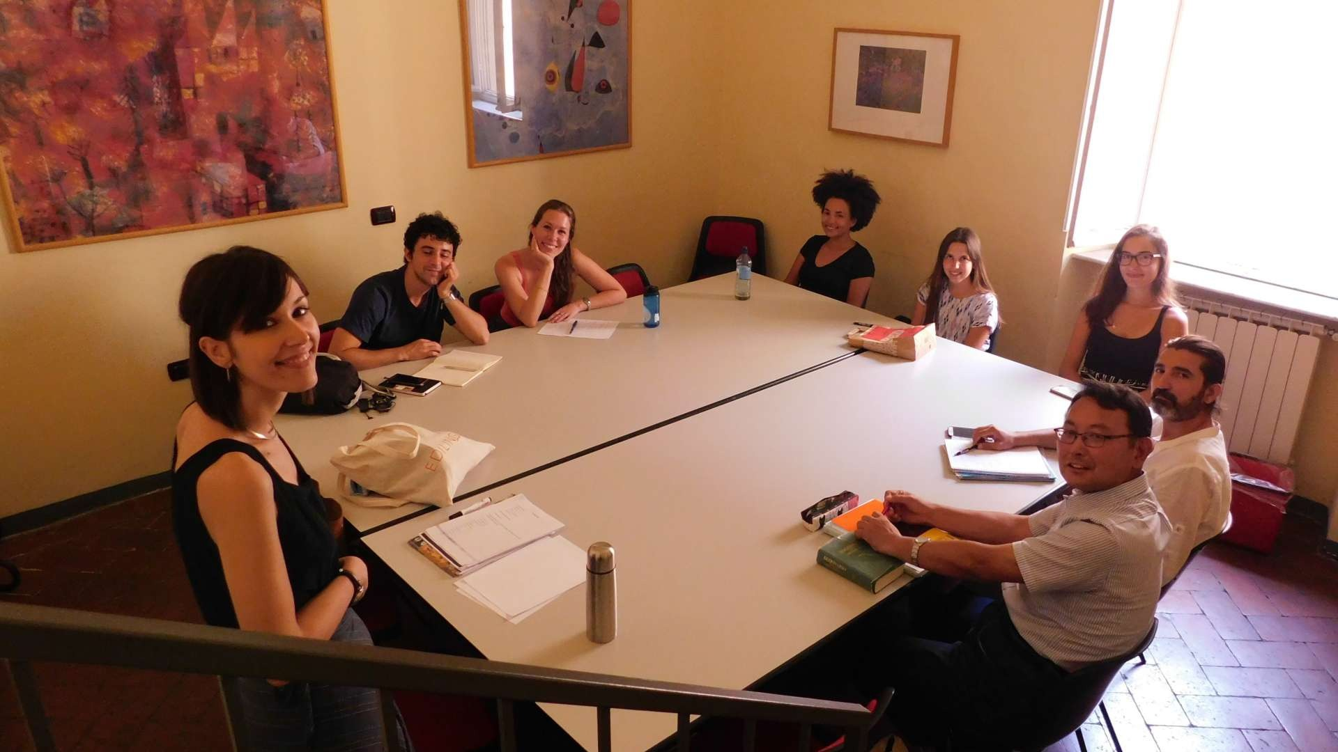 Group Italian language course in Florence