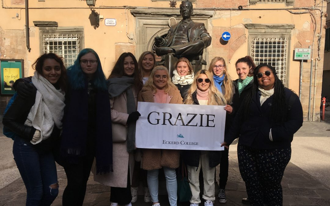 Eckerd College at Parola Italian Language School in Florence