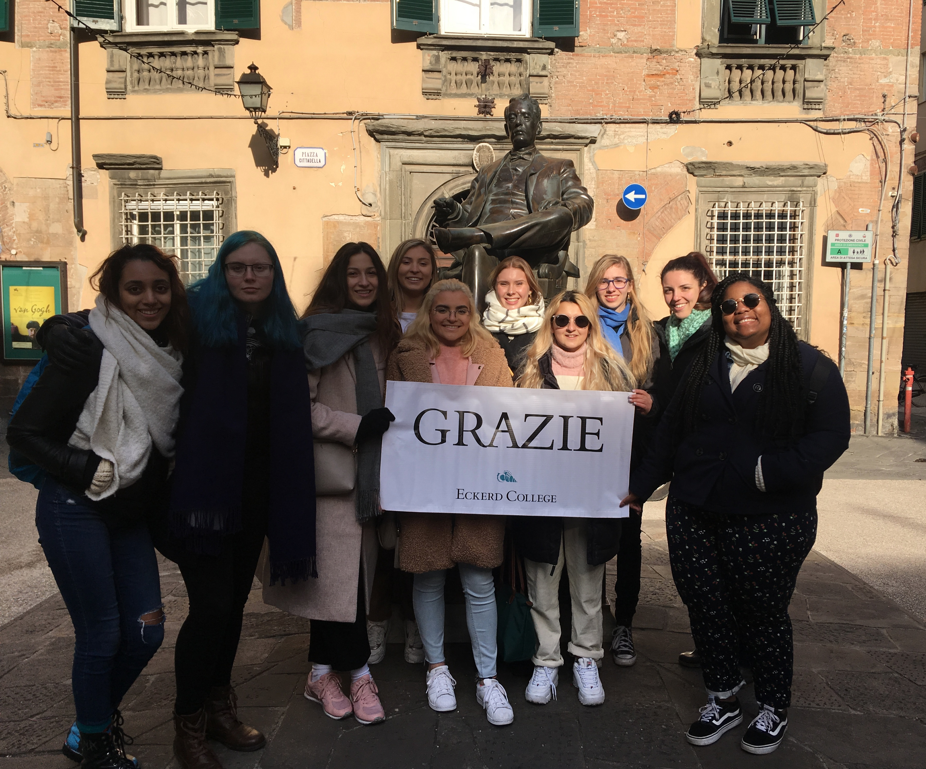 Eckerd College in Florence with Parola school