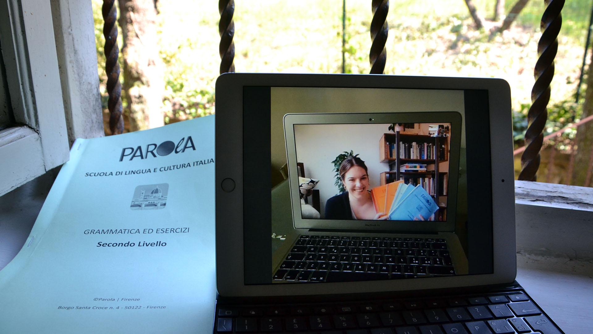 Online Italian course of Parola Italian language school