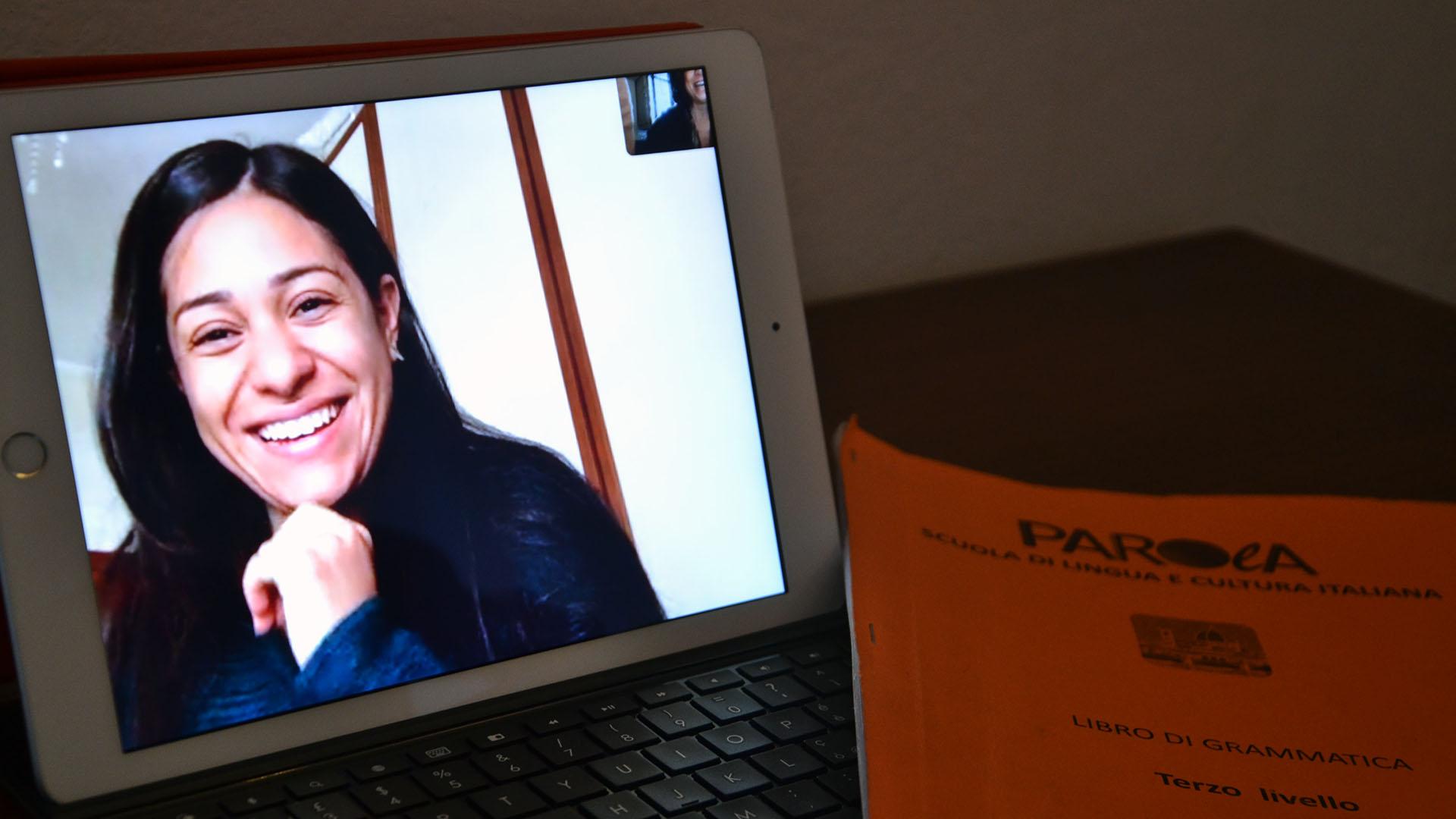 Online Italian language course of Parola school
