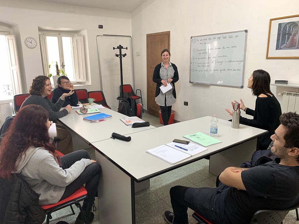 Corso di lingua italiana a Firenze alla scuola Parola