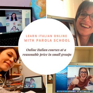 Pics of Parola's online Italian courses